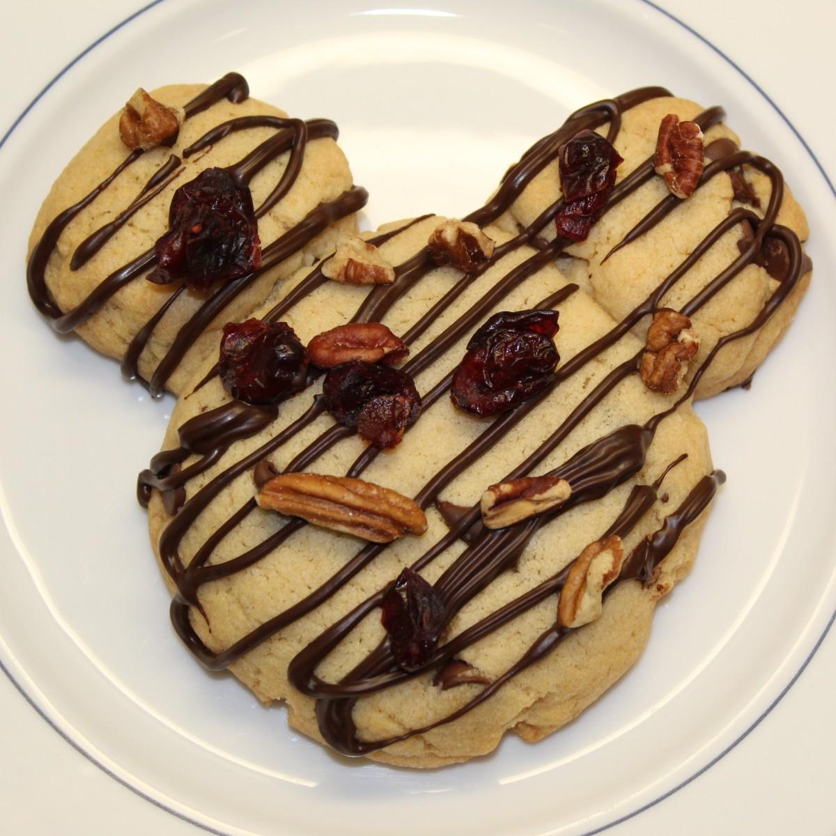 Week 2: Mickey Chocolate Chip Cookies from DisneylandParis