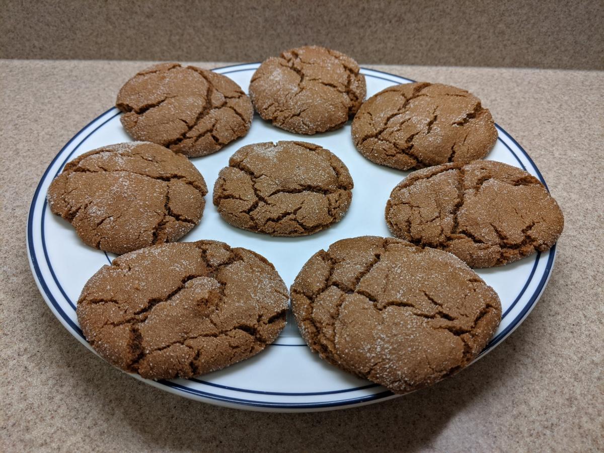 Week 3: Molasses Crackle Cookies from Disney's Wilderness Lodge at Walt Disney WorldResort