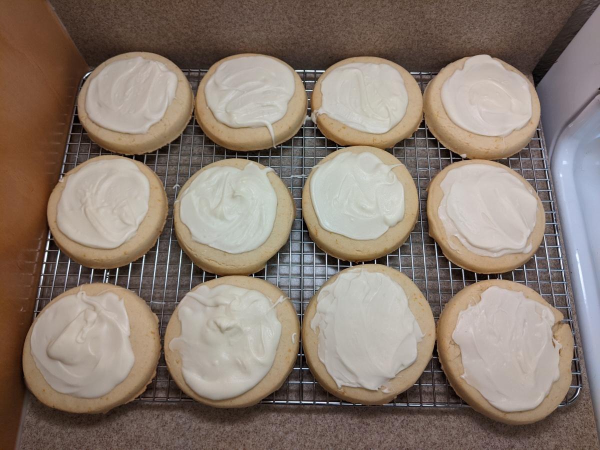 Week 5: Shortbread Cookies from DisneylandResort