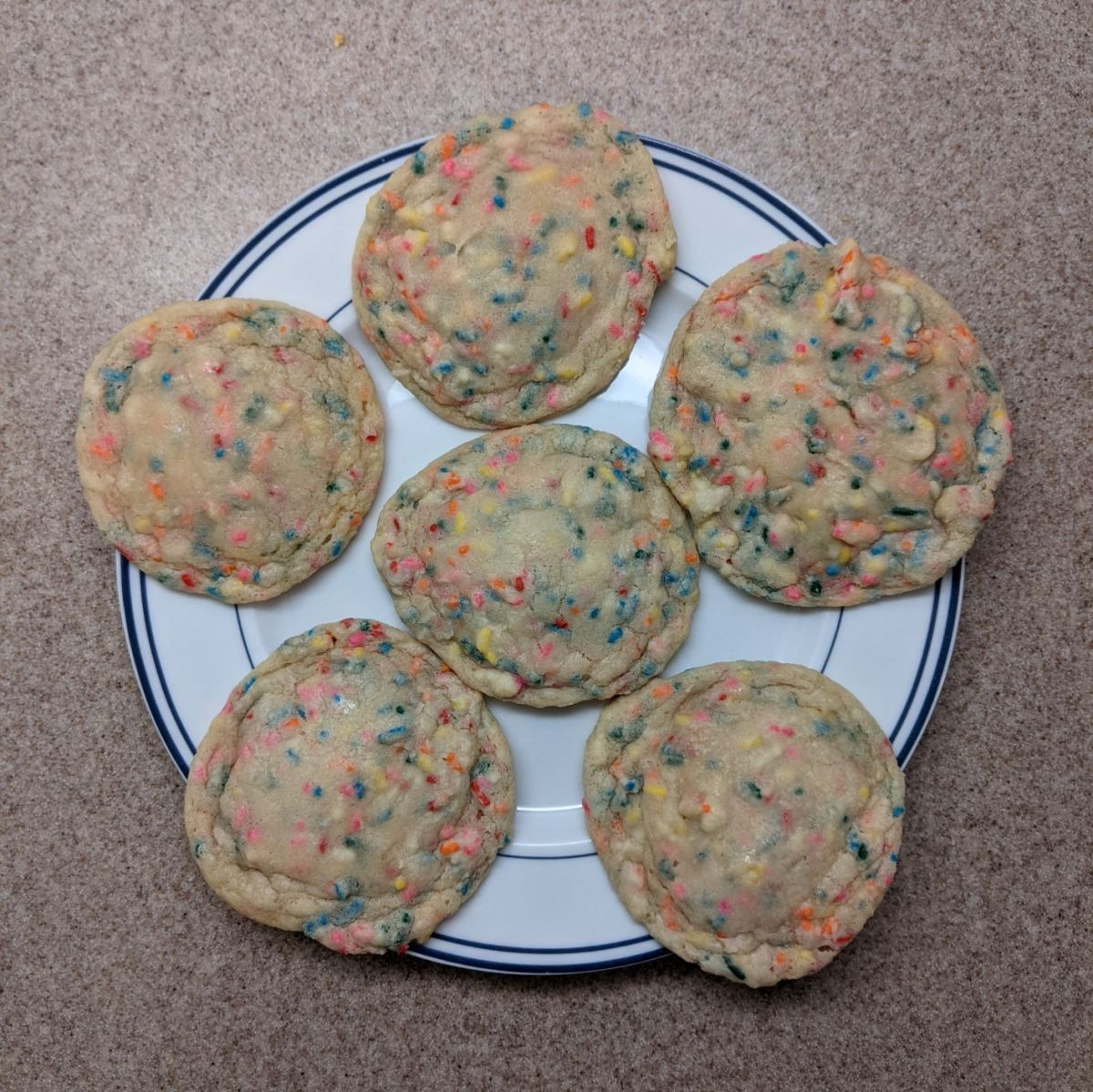 Week 10: Funfetti Cookies!